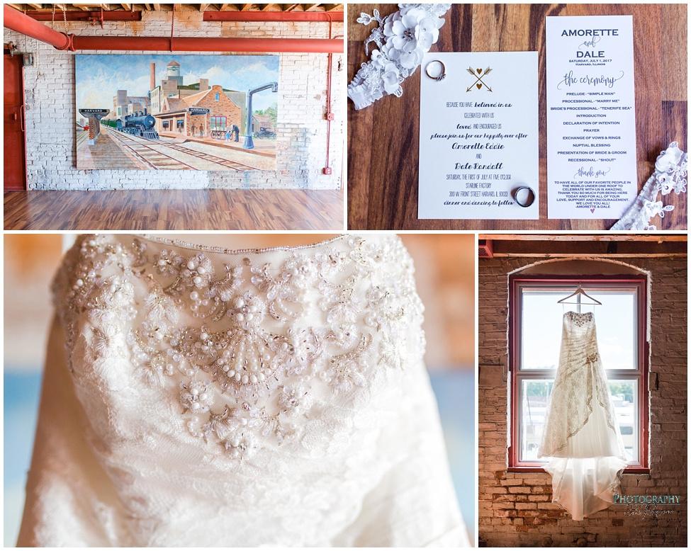 Amorette + Dale | Starline Factory Wedding in Harvard, IL