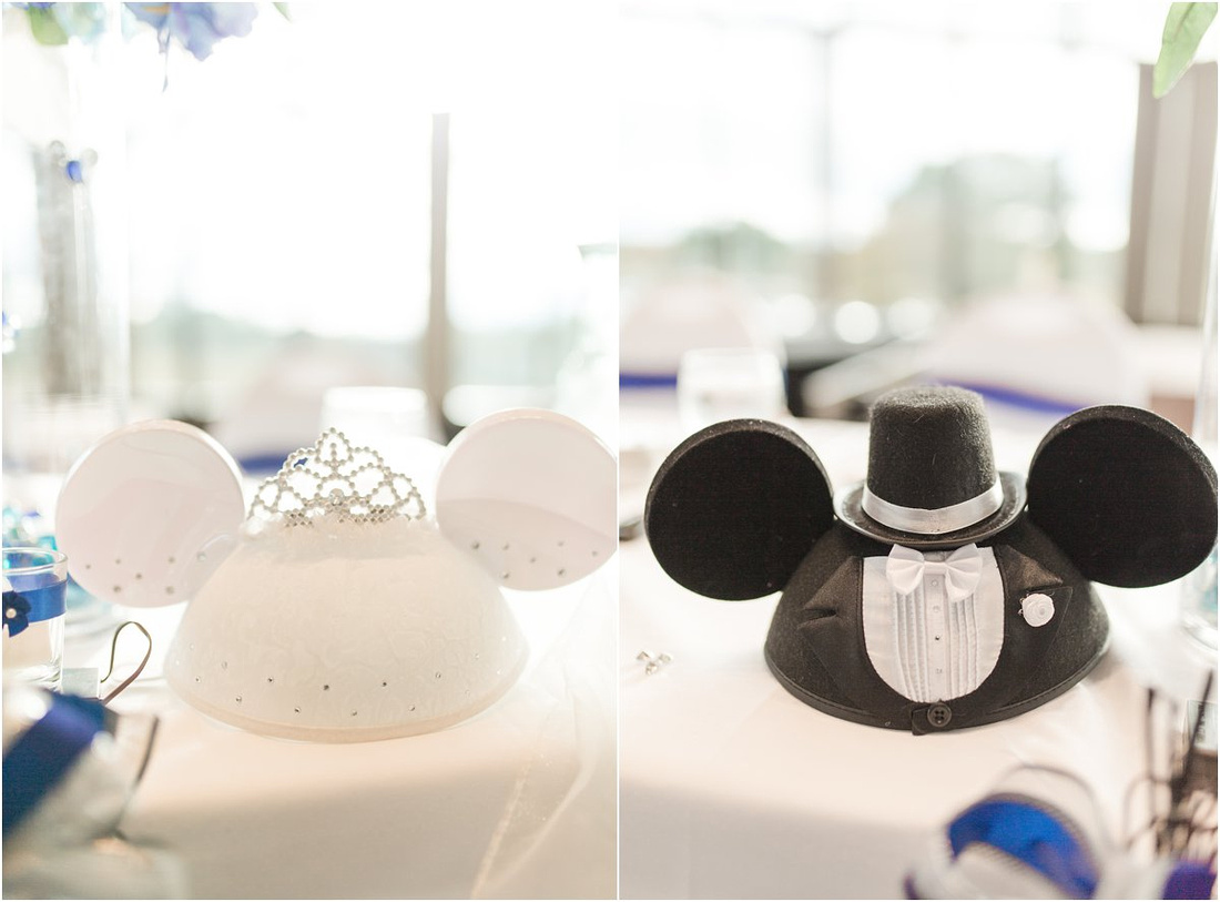 Rockford Wedding and Reception, Rockford University, Disney World Wedding, Micky and Minnie Mouse