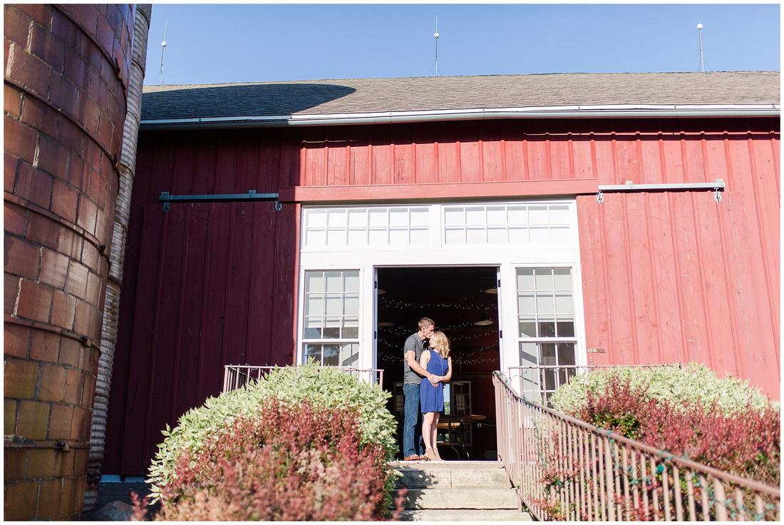 Ali + Nic | McEachran Homestead Winery, Rockton, IL Engagement Session