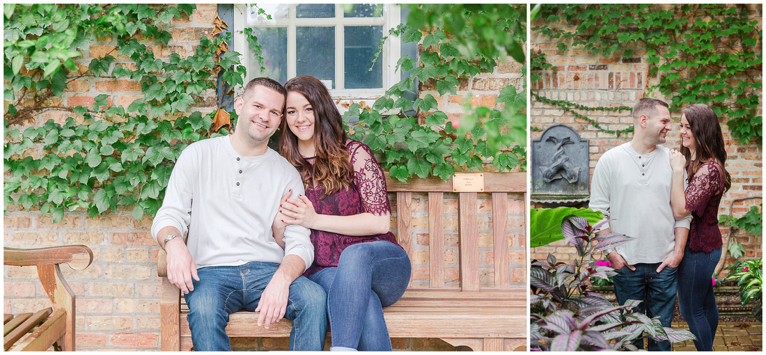Rotary Botanical Gardens Engagement Session, Janesville, WI Photography By Ronica, Engagement photography, Rockford Illinois Wedding Photographer