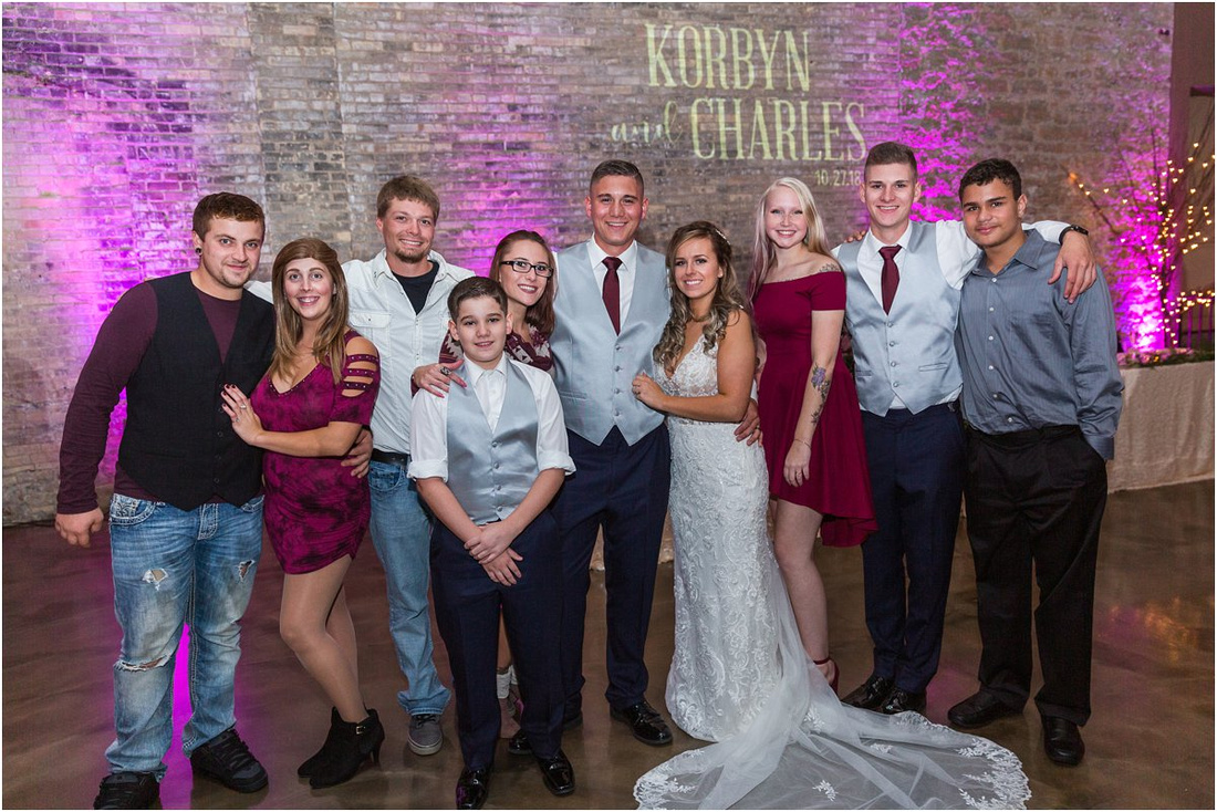 Korbyn and Charles | Married, Prairie Street Brewery